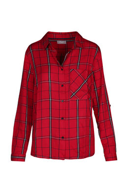 Geruit hemd, Rood