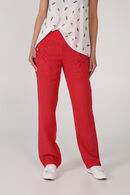 Pantalon en lin, Orange