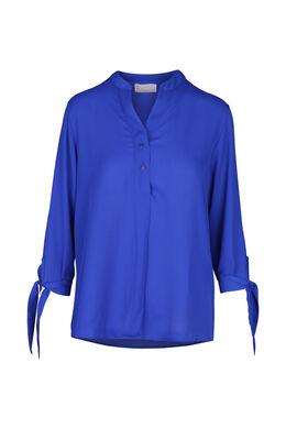 Blouse unie, Bleu royal