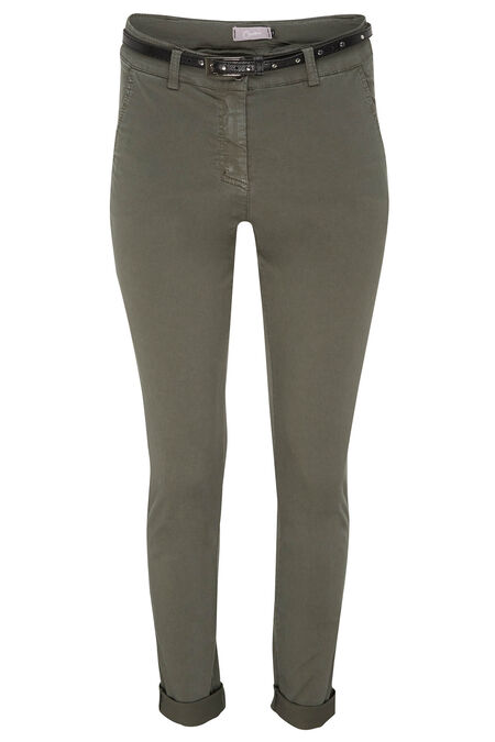 Pantalon chino - Kaki