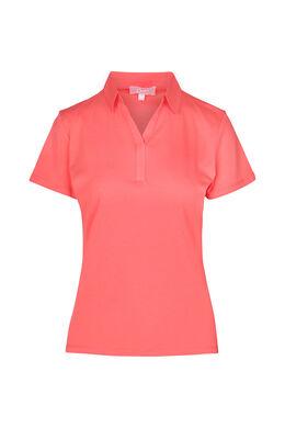 T-shirt polo, Corail