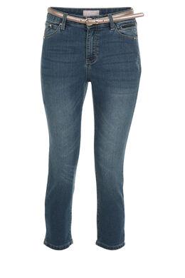 Kuitbroek in jeans, Denim