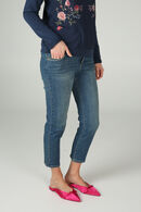 Slim jeans, Denim