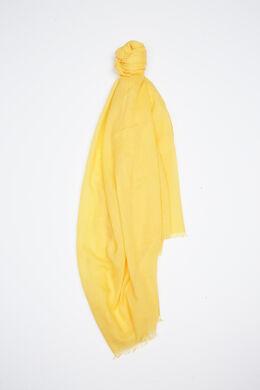 Effen foulard met lovertjes, Geel