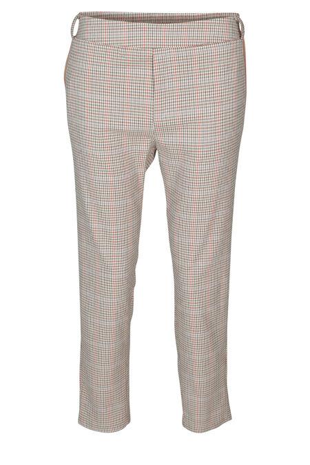 Pantalon à carreaux - Kaki