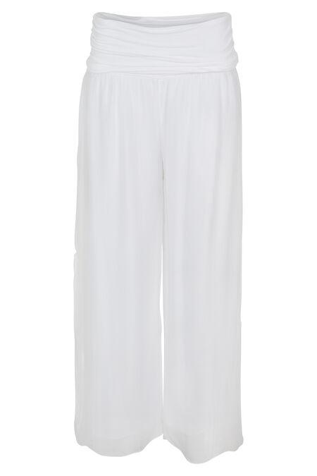 Pantalon en voile - Blanc