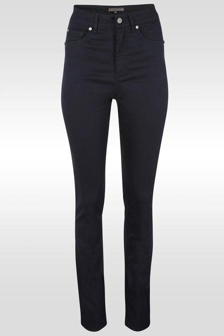 Pantalon push up taille haute slim - Marine
