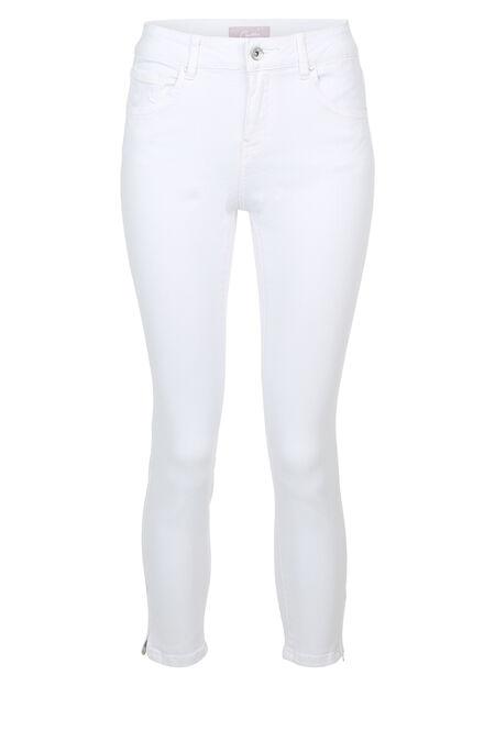 Pantalon 7/8 en coton - Blanc