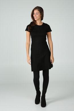 Knielange jurk, Zwart