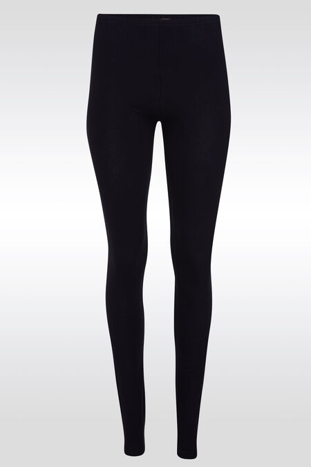 Long legging basique - Marine