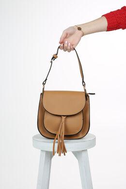 Petit sac bandoulière, Beige