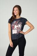 T-shirt imprimé, Marine