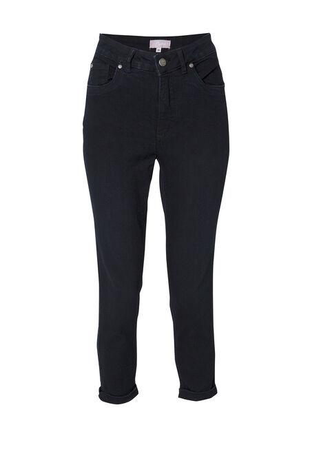 Pantacourt push up en jeans - Dark denim