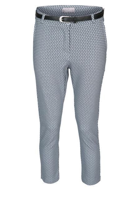 Pantalon imprimé graphique - Bleu