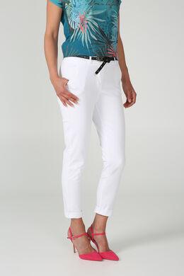 Pantalon chino, Blanc