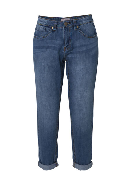 Jeans coupe boyfriend - Denim