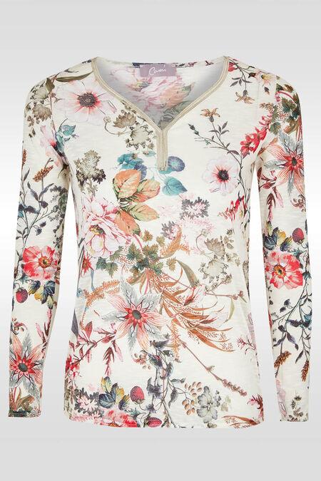 T-shirt imprimé floral - multicolor