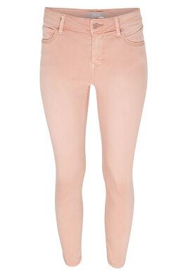 Kuitbroek in gekleurd katoen, Roze