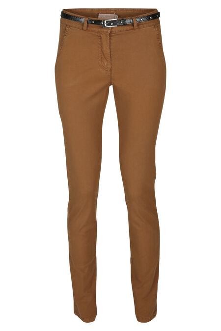 Pantalon chino - Cognac