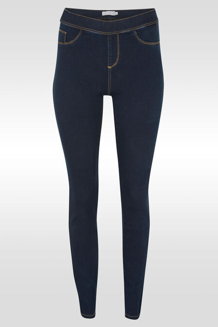 Pantalon jegging en denim - Dark denim