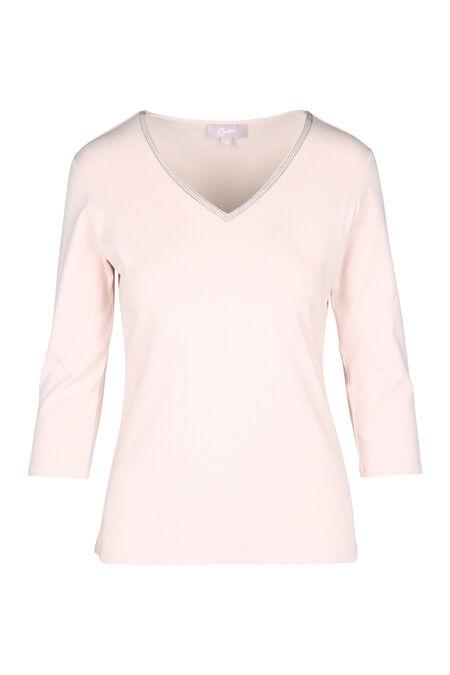 Effen T-shirt - Blush