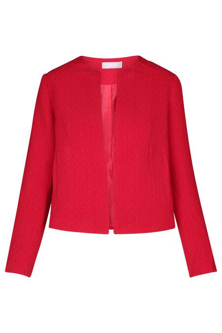 Veste ouverte classique - Rouge