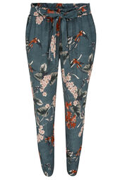 Pantalon fluide japonisant