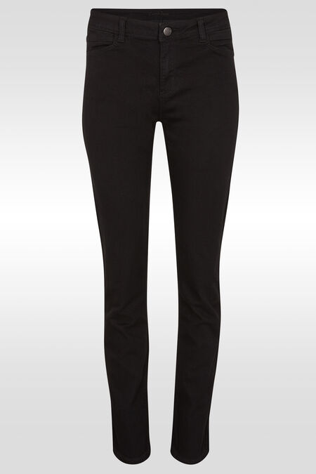 Jeans basique slim - Black Denim