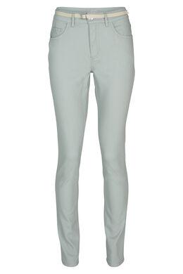 Pantalon 5 poches stretch, aqua