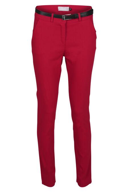 Pantalon en bengaline - Rouge
