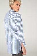Chemise large à rayures, Bleu