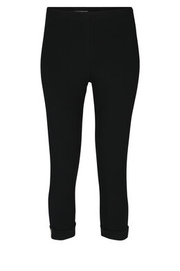 Legging à revers, Noir