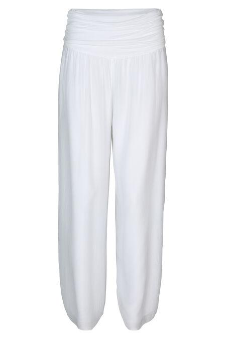 Pantalon large - Blanc