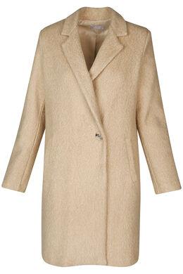 Long manteau classique, Camel