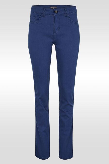 Pantalon slim - Indigo