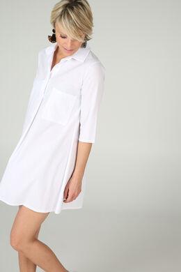 Robe chemisier, Blanc