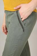 Pantalon en Lyocell, Kaki