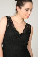 Zwarte, kanten jurk, Zwart