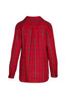 Chemise à carreaux, Rouge