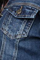 Jeansjasje met strassteentjes, Denim