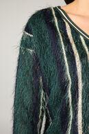 Pluizige trui, Groen