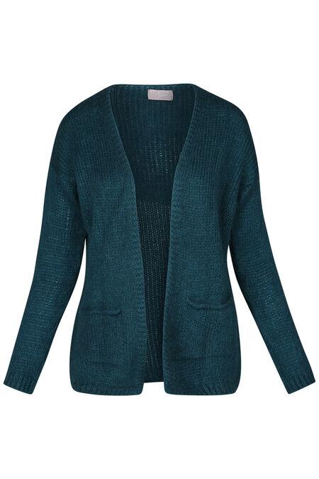 Bernadette-cardigan - Emerald groen