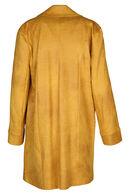 Manteau en faux daim, Ocre