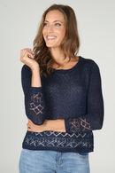2-in-1 trui, Marineblauw
