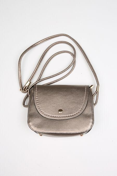 Petit sac en bandoulière - Bronze