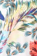 T-shirt met jungleprint en strassteentjes, Multicolor