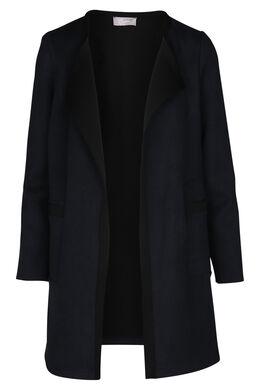 Manteau graphique bicolore, Marine