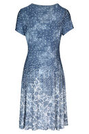 Robe dessins en gomme, Denim
