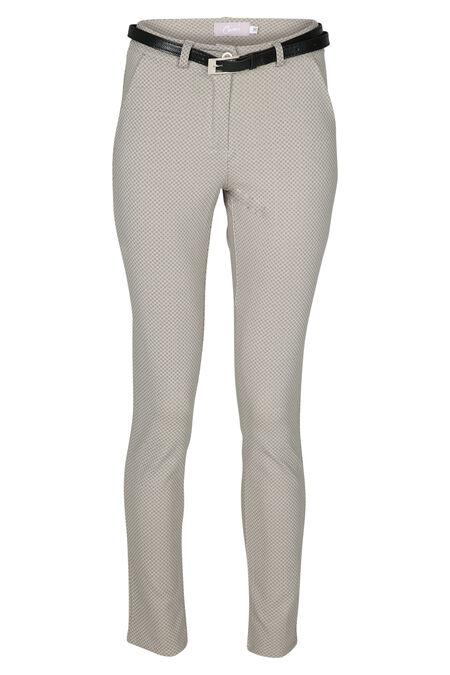 Pantalon en maille épaisse - Beige