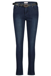Cassis - Donkere slim jeans